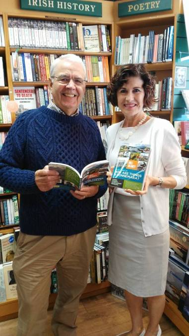 bill and maire o'halloran of the clifden bookshop in connemara