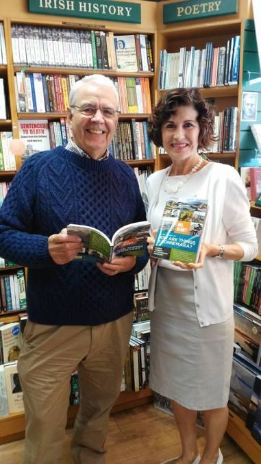 bill and maire o'halloran of the clifden bookshop in connemara