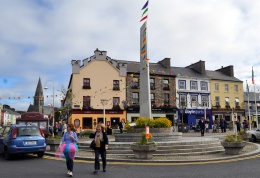 EJ King's bar on the corner in Clifden, Connemara. pic by Bill