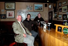 Wild Donegal - customers enjoy a pint in Iggy's bar in Kincasslagh Co Donegal