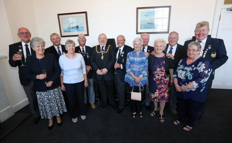 Civic Reception Civil Service Bowlers