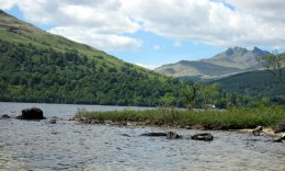 Cobbler at Arrochar pictured from Loch Lomond by Dick