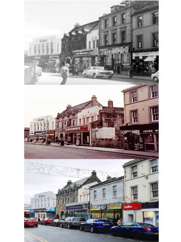 High Street old and new by Tom Gardiner