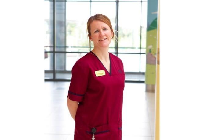 Nurse Jennifer Rodgers