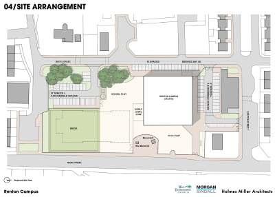 renton school plans 2 Renton Campus - Site Plan
