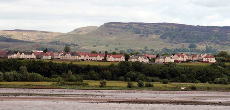 Brucehill from the Clyde