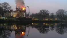 Cameron House fire