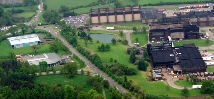 Chivas Regal plant at Kilmalid in Dumbarton