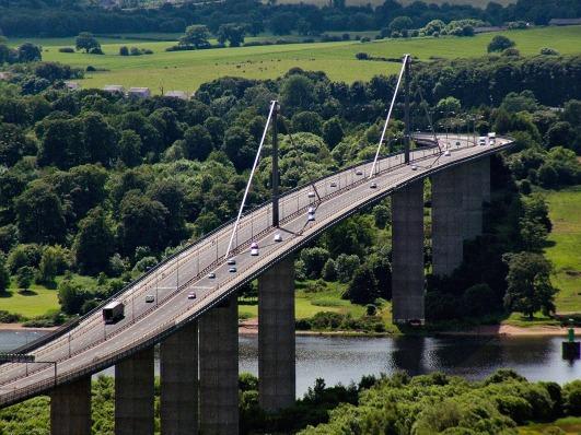Erskine Bridge by Robert Beacon