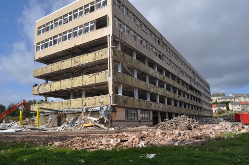 OLSP demolition 1