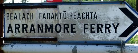 Piers Arranmore ferry