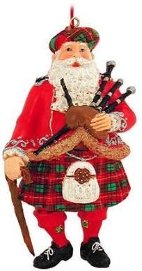 Santa in a kilt