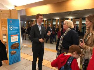 Save Loch Lomond at parliament with Ross Greer