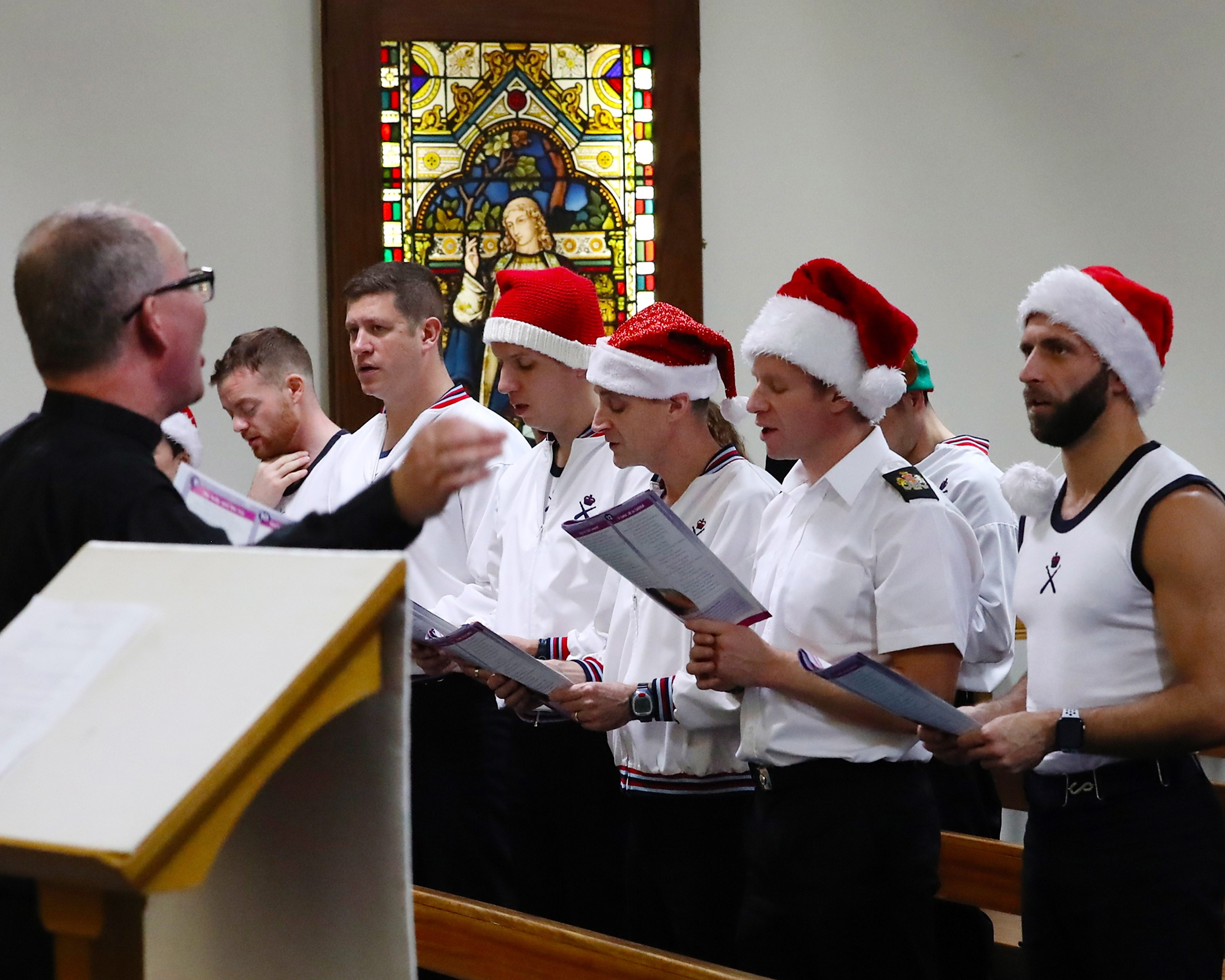 FASLANE STAFF JOIN IN THE BIG SING AT CHRISTMAS