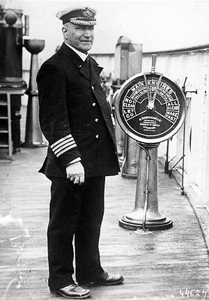 Lusitania Captain Turner