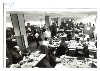 Newspaper office - P and J