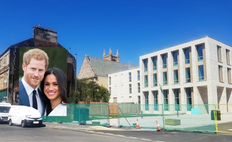 royals on council building