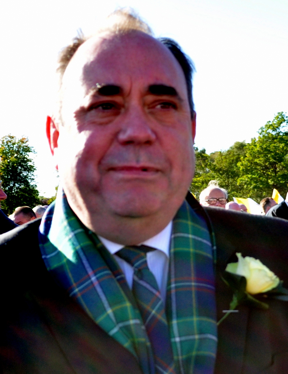 STURGEON OVER-SHADOWED BY SALMOND