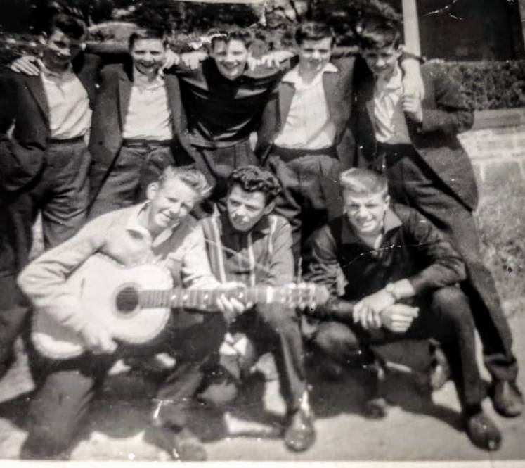 Bill and the BRucehill boys by Jim Crosthwaite