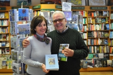 Books - Nicole and Bill in Clifden Bookshop