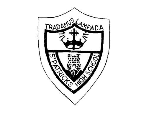 St Patrick High School badge
