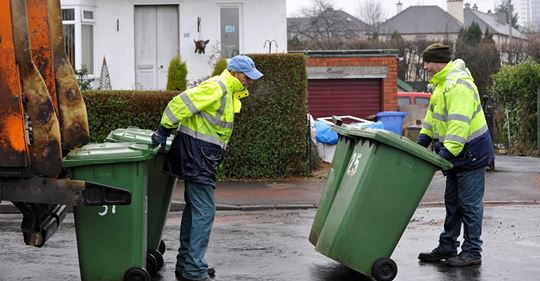 VIRUS: A&B COUNCIL INTRODUCE TWO BIN COLLECTIONS