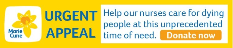 Marie Curie urgent appeal