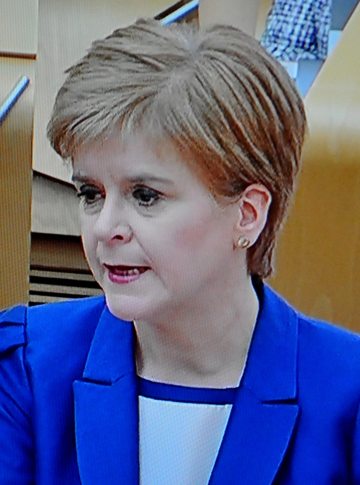 STURGEON'S UNCONVINCING UPDATE TO PARLIAMENT