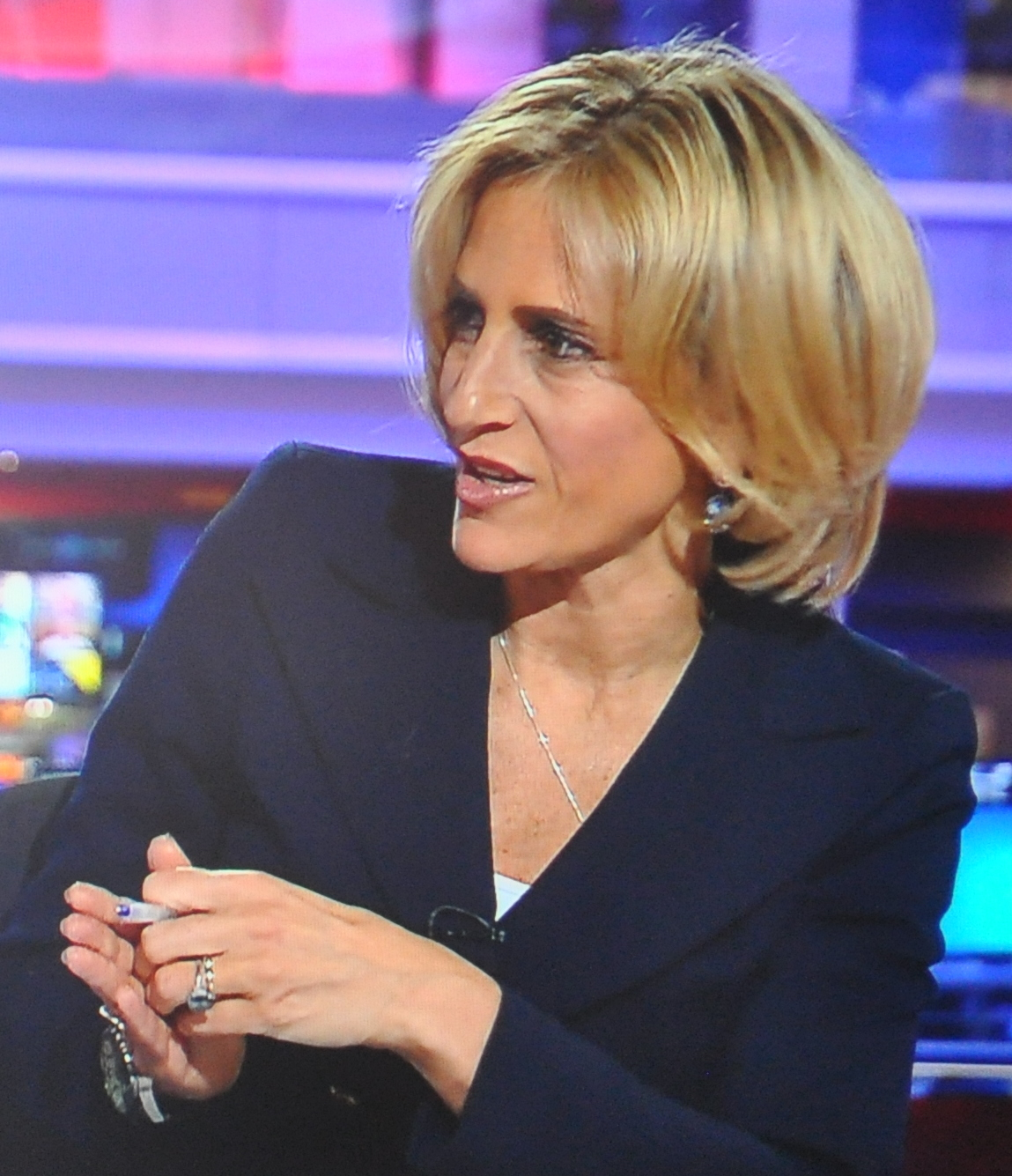 EMILY MAITLIS SAYS SHE ASKED FOR THE NIGHT OFF