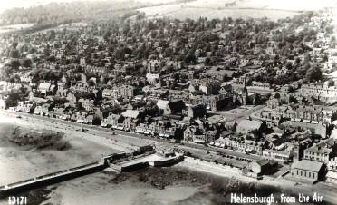 Helensburgh from the air Robert Ryan
