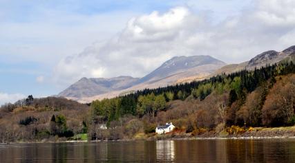 Loch Lomond for Notebook piece by Bill Heaney