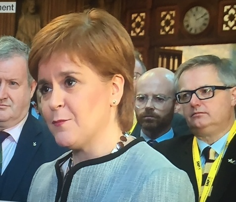 FIRST MINISTER LET DOWN BY PEOPLE WHO FLOUTED THE LOCKDOWN LAWS