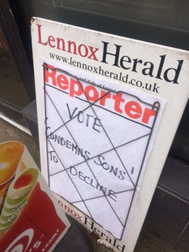CRISIS IN THE LOCAL NEWSPAPER INDUSTRY