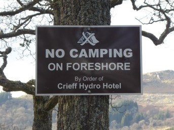 MINISTER SAYS CAMP SITE CLOSURES IS NOT ON